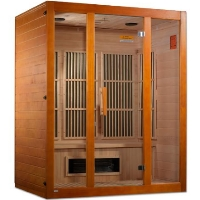 "Maxxus ""Alpine"" Infrared Sauna Dual Technology 3 person Low EMF Sauna Canadian Hemlock - MX-K306-02S"