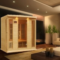 4 Person Maxxus Mouflon Infrared Carbon Sauna