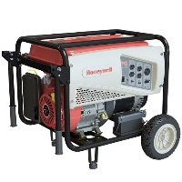 Honeywell 6037, 5500 Running Watts/6875 Starting Watts, Gas Powered Portable Generator