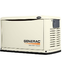 GENERAC GUARDIAN SERIES 11KW WITH 12-CIRCUIT SWITCH AIR COOLED STANDBY GENERATOR