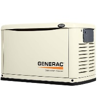 GENERAC GUARDIAN SERIES 16KW BACKUP GENERATOR WITH WHOLE HOUSE SWITCH