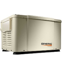 GENERAC POWERPACT 7KW WITH 8-CIRCUIT PRE-WIRED SWITCH