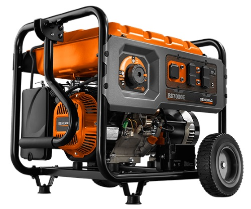 Remarkable Generac Rs Series 7000E Portable Gas Generator 420Cc Ohv Engine Wiring Cloud Hisonuggs Outletorg