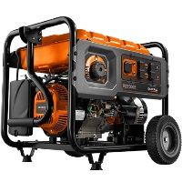 Generac RS Series 7000E Portable Gas Generator, 420cc OHV Engine