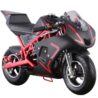 40cc 4-Stroke Pull Start Gas Pocket Bike