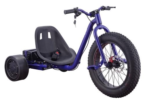 Bowen 900W 36V Electric Drift Trike - Speeds Up to 15 MPH