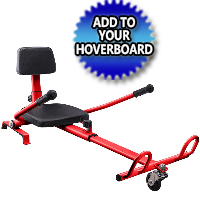 Hover Kart Attachment for Self Balance Hoverboard Scooter