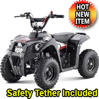 40cc Gas Atv Utility Quad With Pull Start - Monster 40cc