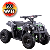 Monster 500 Watt 36 Volt Electric Four Wheeler ATV - Monster 500 Watt