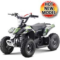 40cc Sahara Kids Atv Four Wheeler With 50cc Size Frame