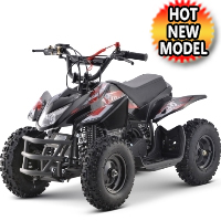 50cc Size Gas Atv Sport Quad Manual Pull Start - Titan With 40cc Engine