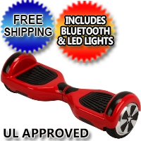 "6.5"" Original Self Balance Hoverboard Scooter w/Bluetooth & LED Lights - Free Shipping & UL Approved"