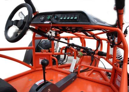 150cc Sand Sniper 4 Stroke Air Cooled Go Kart