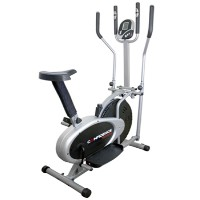 Fitness PRO 2-in-1 Elliptical Cross Trainer and Bike