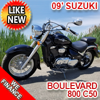 2009 Suzuki Boulevard 800 C50 Motorcycle Like New ONLY 1500 Miles