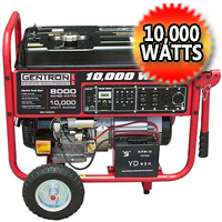 10,000 Watt Generator with Electric Start