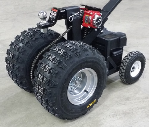 Electric Trailer Dolly >> High Quality Hybrid Powered Motorized Trailer Dolly W Heavy Duty Motor 11 000lb Capacity