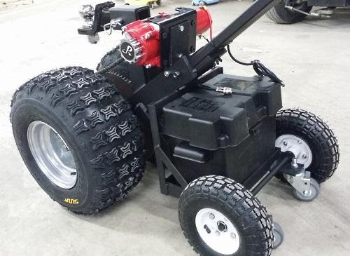 high quality hybrid powered motorized trailer dolly w   heavy duty motor