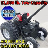 High Quality Hybrid Powered Motorized Trailer Dolly w/ Heavy Duty Motor - 11,000lb Capacity