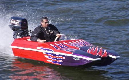 Brand new 10 foot catamaran power speed boat