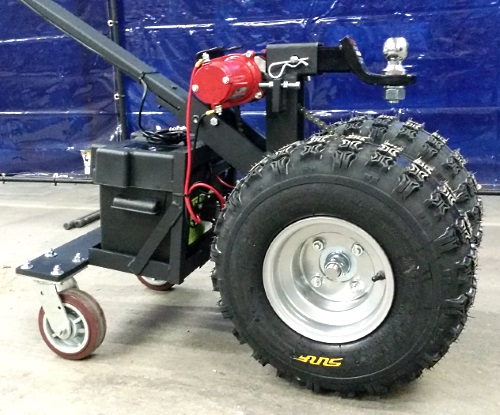 High Quality Super Duty Powered Motorized Trailer Dolly