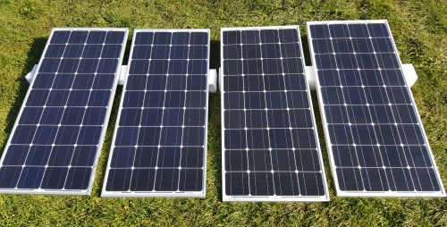 12000 Watt Solar Powered Ultimate Generator with 60 Amp Charge Controller -  8 Panels & 8 Batteries