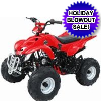 125cc 4 Stroke Scorpion ATV
