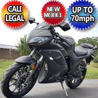 125cc Ninja Street Bike 5 Speed Manual Motorcycle Scooter