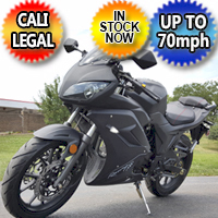 125cc Ninja Street Bike 4 Speed Manual Motorcycle Scooter