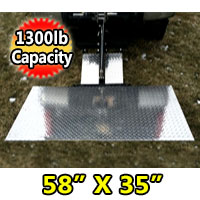 LiftGate Lift Hitch Heavy Duty Vehicle Hitch Lift Gate - 1300 lb Capacity