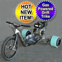 Gas Motorized Drift Trike Big Wheel Ultra Slide