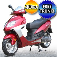 200cc Horizon STG-C Scooter Moped