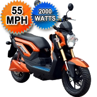 Brand New Boom 2000W Electric Scooter Type 575Z Moped Scooter