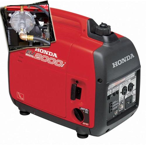 2000 Watt Tri Fuel Generator Super Quiet Multi Fuel Powered Portable  Inverter Generator With Eco Throttle ...