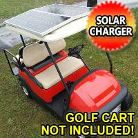 200 Watt Powerful Solar Golf Cart Charger