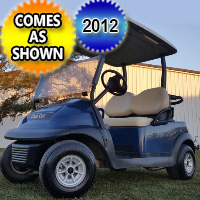 2012 48v Electric Club Car Precedent Golf Cart - Excellent Condition