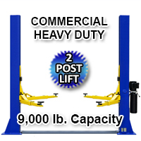 9,000 LB 2 Post Lift Car Auto Truck Hoist 220V