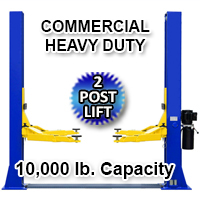 10,000 LB Automotive Lift 2 Post Vehicle Lift Car Auto Truck Hoist 220V - Model 10k