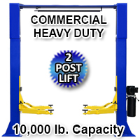 10,000 LB Automotive Lift 2 Post Vehicle Lift Car Auto Truck Hoist 220V - Model 1100