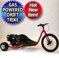 Brand New 212cc Gas Powered Drift Trike