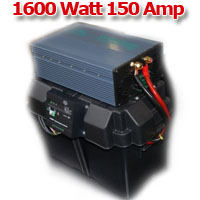 Solar Powered Generator 12V 150 Amp Hour 1600 Watt Solar Power Generator