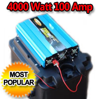Solar Powered Generator 100 Amp 4000 Watt Solar Generator Just Plug and Play
