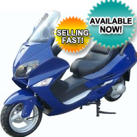 250cc Scout 4 Stroke Moped