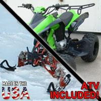 250cc Grim Reaper Four Stroke AtSki Snowmobile