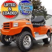 250F Truck Custom Club Car Golf Cart