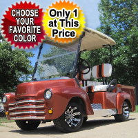 47' Old Truck Custom Club Car Golf Cart