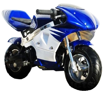 Brand New High Performance 4 Stroke 40cc Pocket Mini Bike