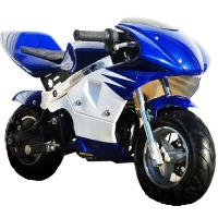 High Performance 4 Stroke 40cc Pocket Mini Bike