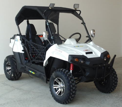 Gas Golf Cart Utv Hybrid 300cc Utility Vehicle Extended Challenger Edition