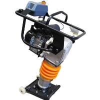 6.5 HP Gas Powered Plate Compactor Tamper Rammer w/Recoil Start